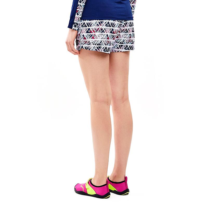 여성 비치팬츠 히비스커스 핑크
