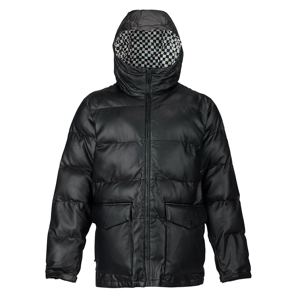 Burton 남성 아날로그 킬로이 재킷 True Black Leather